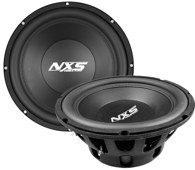 "NX10 - 10""  and NX12 - 12"" Subwoofers"